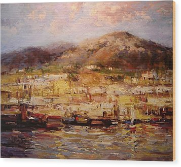 Ischia  Wood Print by R W Goetting
