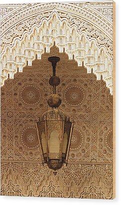 Islamic Plasterwork Wood Print