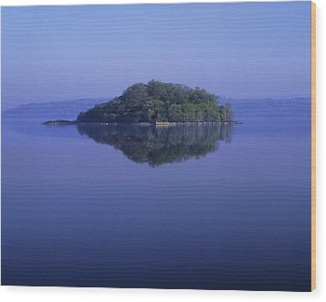 Isle Of Innisfree, Lough Gill, Co Wood Print by The Irish Image Collection