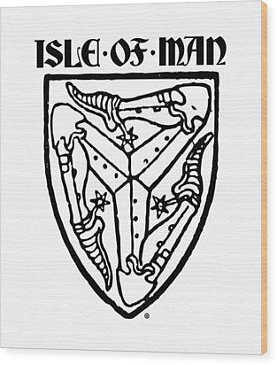 Isle Of Man Wood Print by Gary Grayson