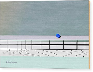 Wood Print featuring the digital art Isolation 2 by Kae Cheatham