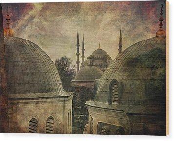 Istambul Mood Wood Print