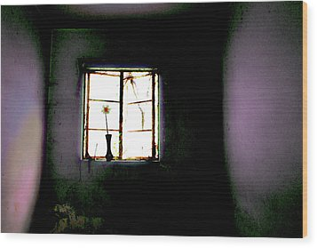 Wood Print featuring the photograph It Was Her Room... by Gray  Artus