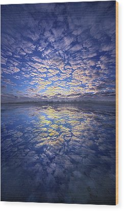 Wood Print featuring the photograph It Was Your Song by Phil Koch