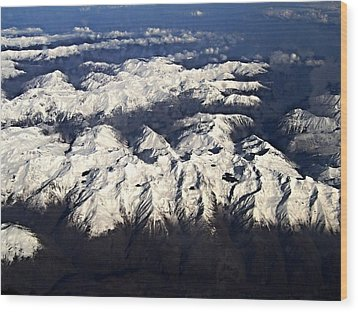 Italian Alps Wood Print