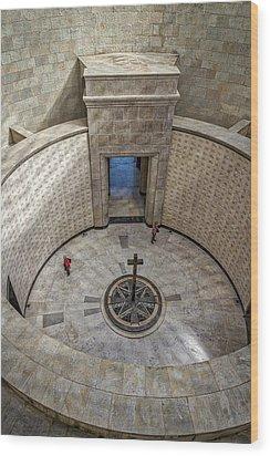 Wood Print featuring the photograph Italian World War One Shrine #3 by Stuart Litoff