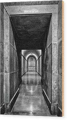 Wood Print featuring the photograph Italian World War One Shrine #4 by Stuart Litoff