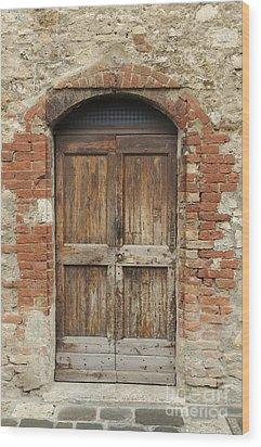 Italy - Door Eleven Wood Print