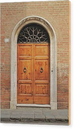 Italy - Door Fifteen Wood Print