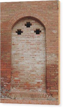 Italy - Door Fourteen Wood Print