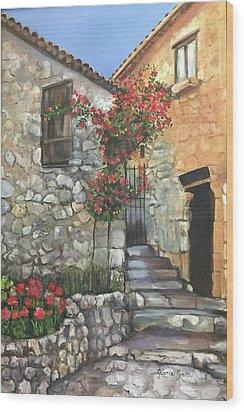 Italy Wood Print