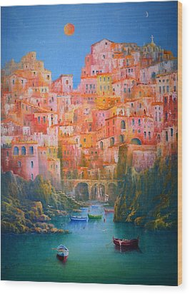 Impressions Of Italy   Wood Print