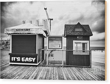 Its Easy Wood Print by John Rizzuto