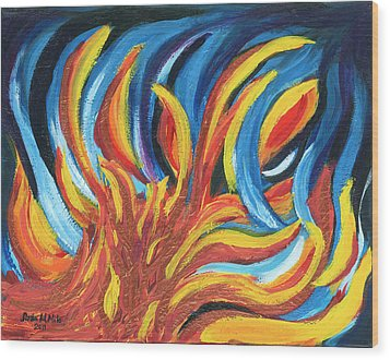Its Elemental Wood Print