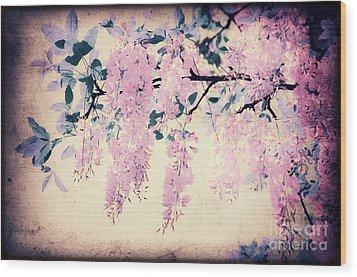 It's Springtime Wood Print by Angela Doelling AD DESIGN Photo and PhotoArt