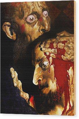 Ivan D Wood Print by Valeriy Mavlo