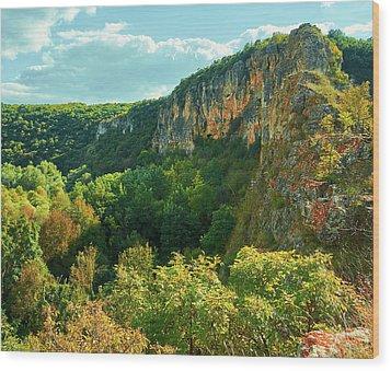 Ivanovo Rocks Wood Print