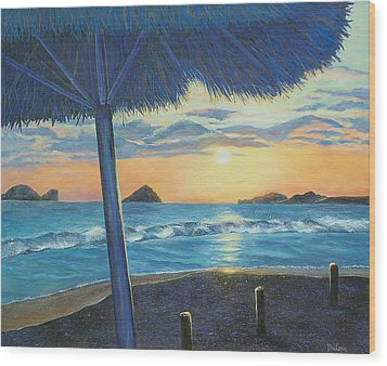 Ixtapa Wood Print by Susan DeLain