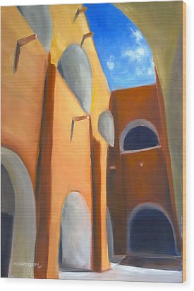 Izamal - Monastery San Antonio De Padua  Wood Print