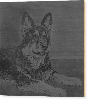 Izzy Wood Print