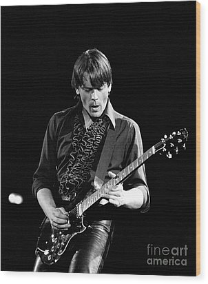 Wood Print featuring the photograph J Geils by Chris Walter