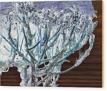 J-lintz - Mangrove Mushroom Wood Print