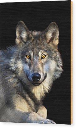 Jacob Wood Print by Julie L Hoddinott