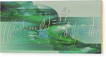 Wood Print featuring the photograph Jade Enigma by Robert G Kernodle