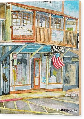 Jaggers Wood Print