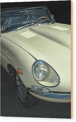 Jaguar Xke Roadster Wood Print