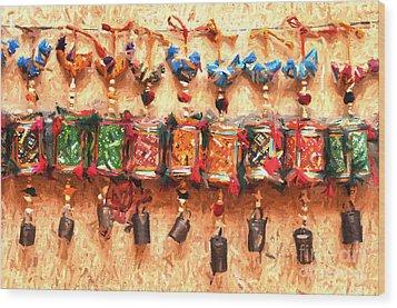 Jaisalmer Desert Festival-2 Wood Print