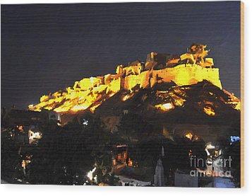 Jaisalmer Desert Festival-3 Wood Print