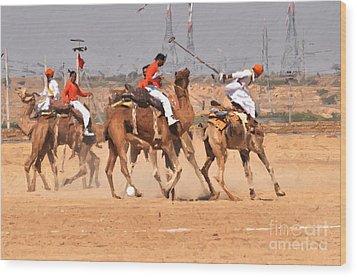 Jaisalmer Desert Festival-7 Wood Print