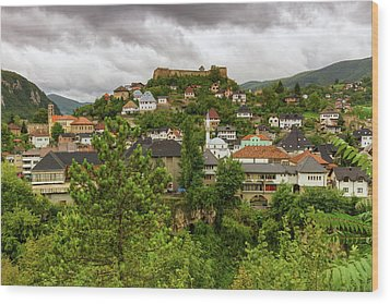 Jajce, Bosnia And Herzegovina Wood Print