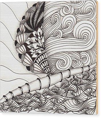 Jamaican Dreams Wood Print by Jan Steinle