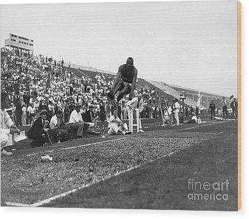 James Jesse Owens Wood Print by Granger
