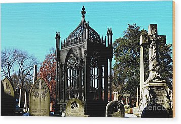 James Monroe Tomb Wood Print by E Robert Dee