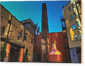 Jameson Distillery Wood Print