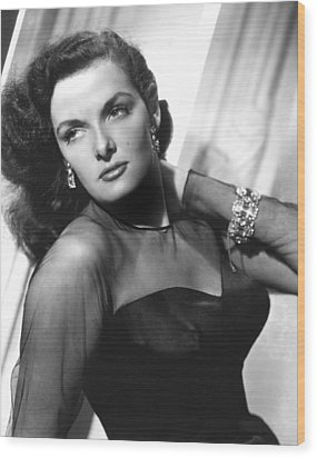 Jane Russell, 1948 Wood Print by Everett