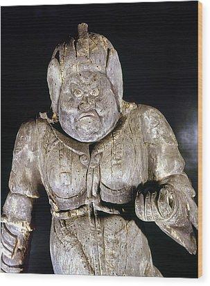 Japan: Buddhist Statue Wood Print by Granger