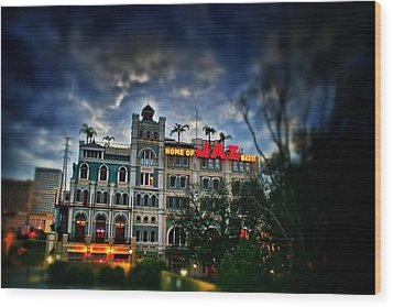 Wood Print featuring the photograph Jax Brewery  by Jim Albritton