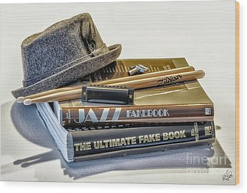 Wood Print featuring the photograph Jazz by Walt Foegelle