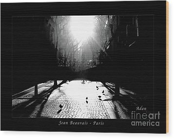 Jean Beauvais Paris Wood Print