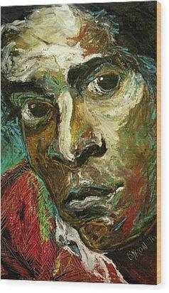 Jean-michel Basquiat Wood Print