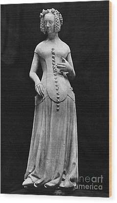 Jeanne II Dauvergne Wood Print by Granger