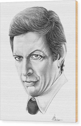 Jeff Goldblum Wood Print by Murphy Elliott