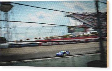 Jeff Gordon's Last Race At Mis Wood Print