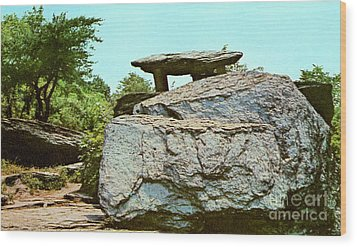 Jefferson Rock  Wood Print by Ruth  Housley