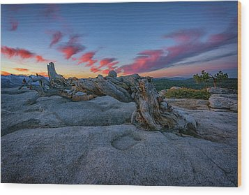 Wood Print featuring the photograph Jeffrey Pine Dawn by Rick Berk