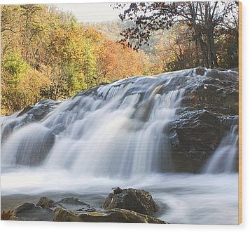 Wood Print featuring the photograph Jennings Creek 2 by Alan Raasch